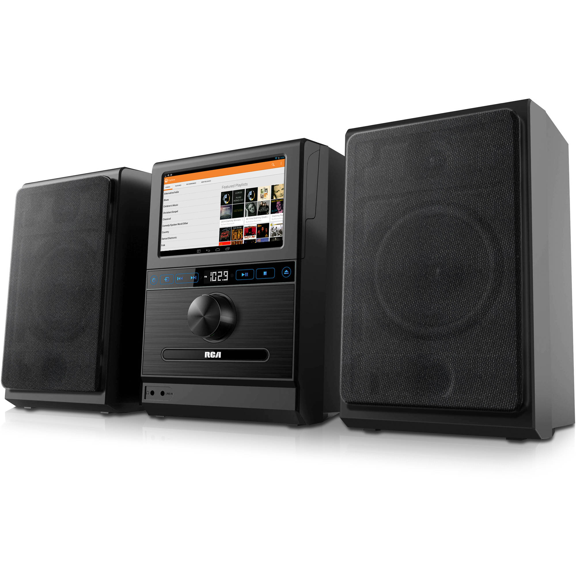 RCA Internet Music System, Black