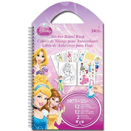 Sticker Travel Book - Disney - Princess Toys Decals New - Disney Car Stickers