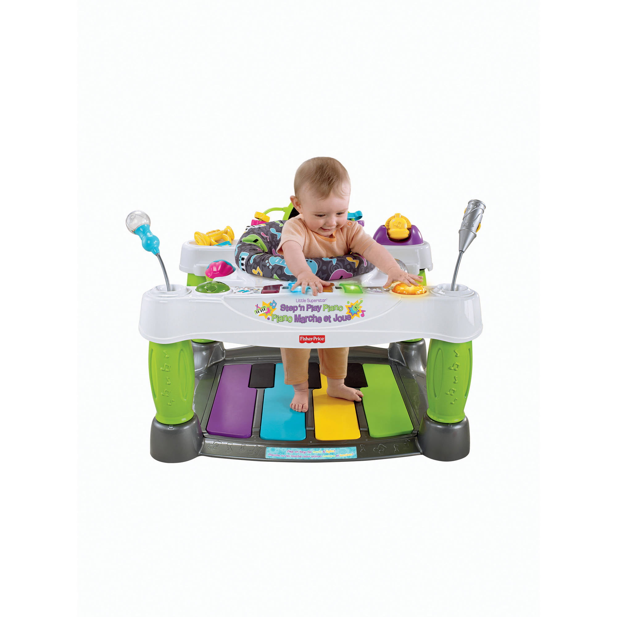 Fisher Price Zoo Party Jumperoo Walmart Com