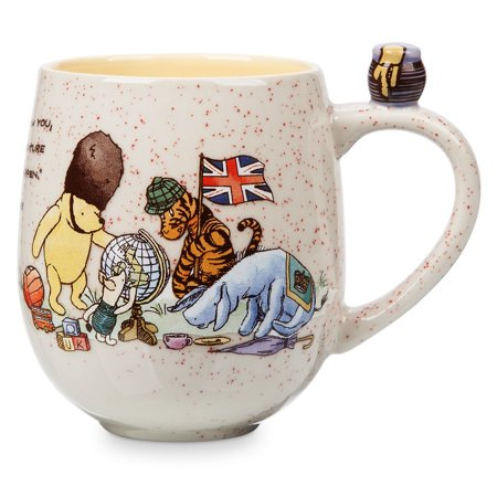 Disney Parks Epcot Winnie the Pooh and Friends Classic Ceramic Coffee Mug New (Classic Coffee Mug)