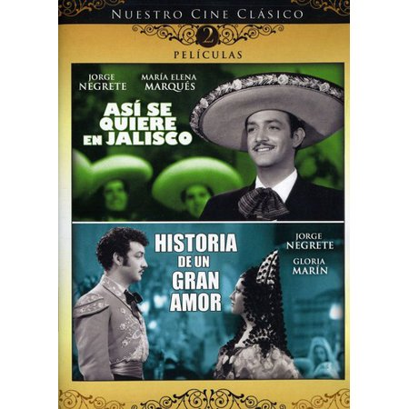 Asi Se Quiere En Jalisco / Historia De Un Gran Amor (DVD)