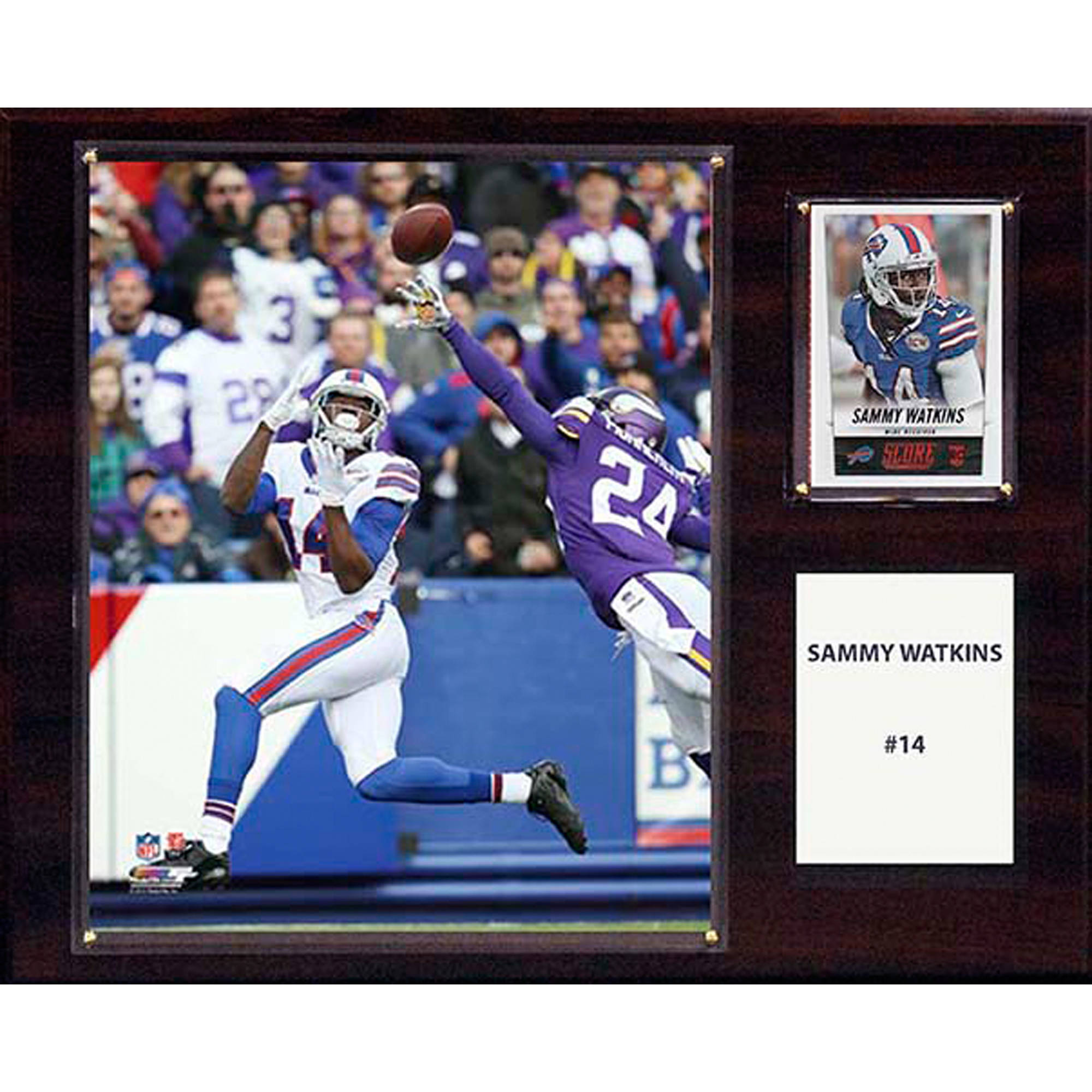 C&I Collectables NFL 12x15 Sammy Watkins Buffalo Bills Player Plaque
