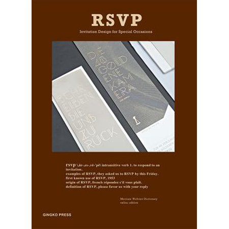 Rsvp : Invitations for Gatherings and Special Occasions