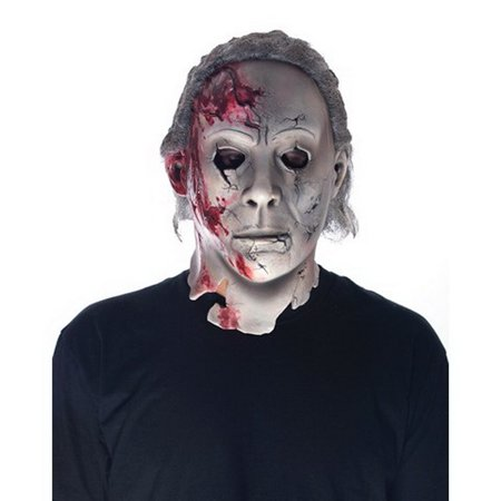 Paper Magic Group PMG-6771029-C Michael Myers Rob Zombie Halloween 2 Costume - Rob Zombie Halloween Pumpkin Mask