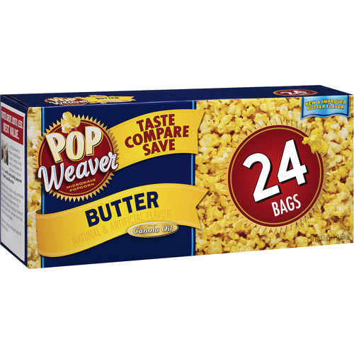 Pop Weaver Butter 24 pk