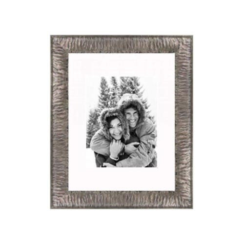 Frames By Mail 11'' x 14'' Crinkled Frame in Silver