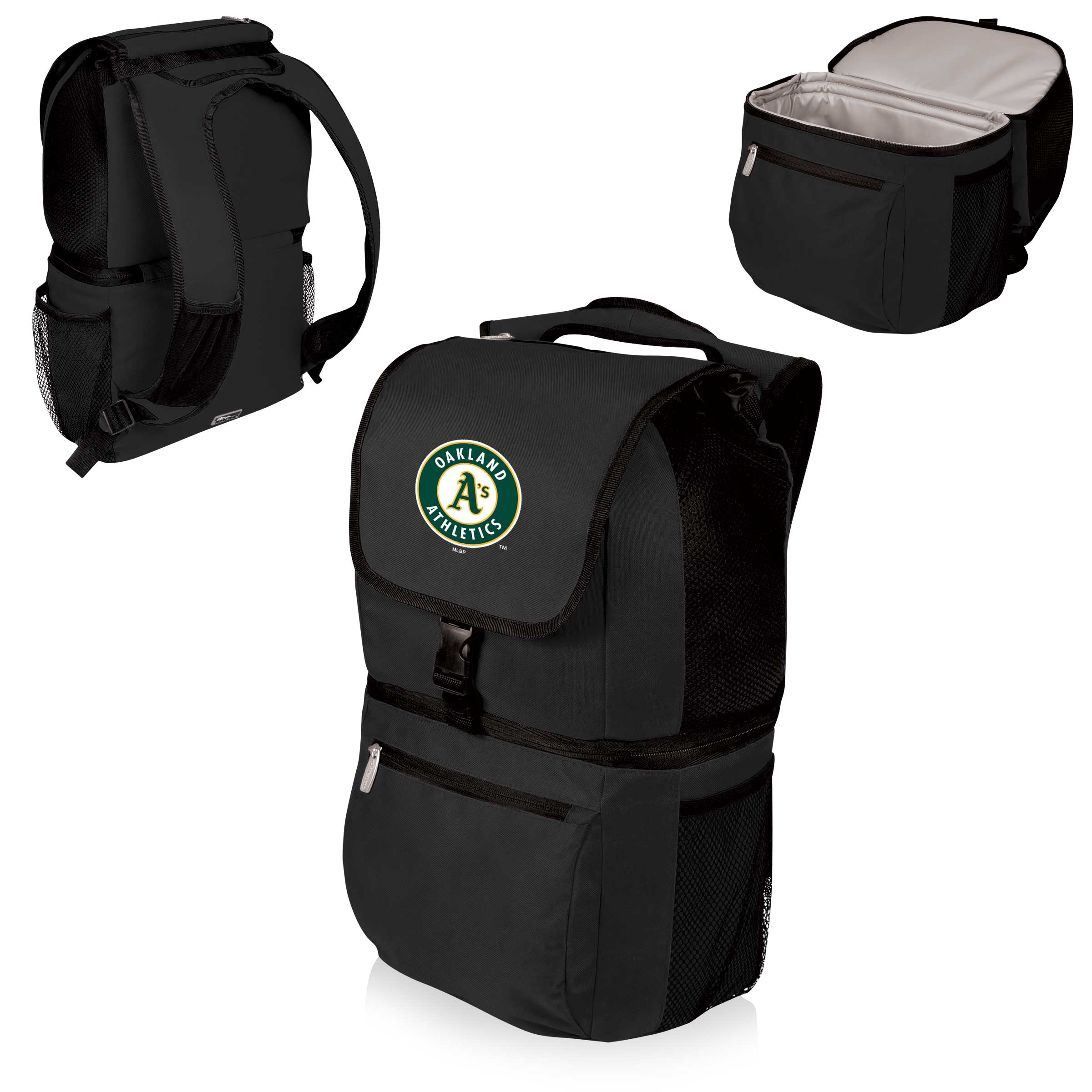 Oakland Athletics Zuma Cooler Backpack - Black - No Size