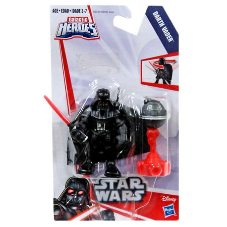 Star Wars Galactic Heroes Darth Vader Mini Figure ()