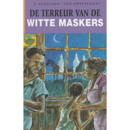 De terreur van de witte maskers - - Kinder Maskers Halloween