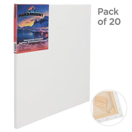 Paramount Bulk Canvas 3/4