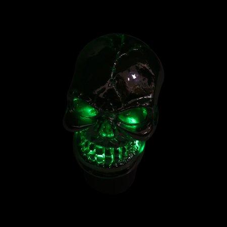 Skull Head Design Colorful LED Light Manual Gear Shift Knob Lever for Auto Car - image 3 of 8