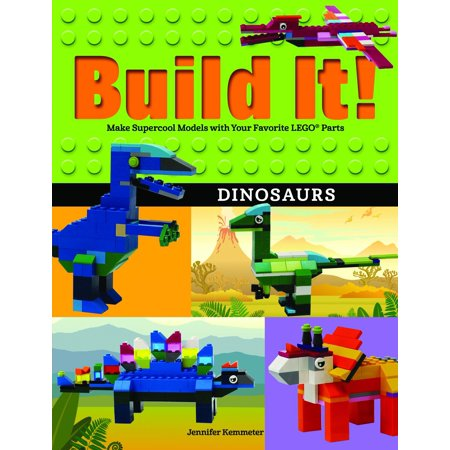 Brick Books: Build It! Dinosaurs: Make Supercool Models with Your Favorite LEGO Parts (Hardcover)](Build A Dino)