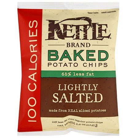 Kettle Brand Sea Salt Baked Potato Chips, .8 oz (Pack of 72) - Walmart ...