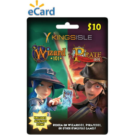 KingsIsle Combo Card $10 (Email Delivery) ONLINE (Wizards 101)