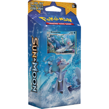 Pokemon TCG - Sun & Moon Theme Deck - Bright - Tide Deck