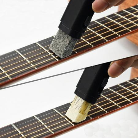 Plastic Dual Purpose Guitar Bass String Fingerboard Cleaner Rust Cleaning Tool  - image 11 de 11