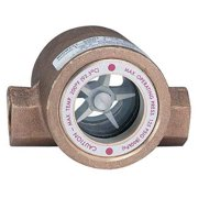 DWYER INSTRUMENTS SFI-300-1 Double Sight Flow Indicator,Bronze,1In