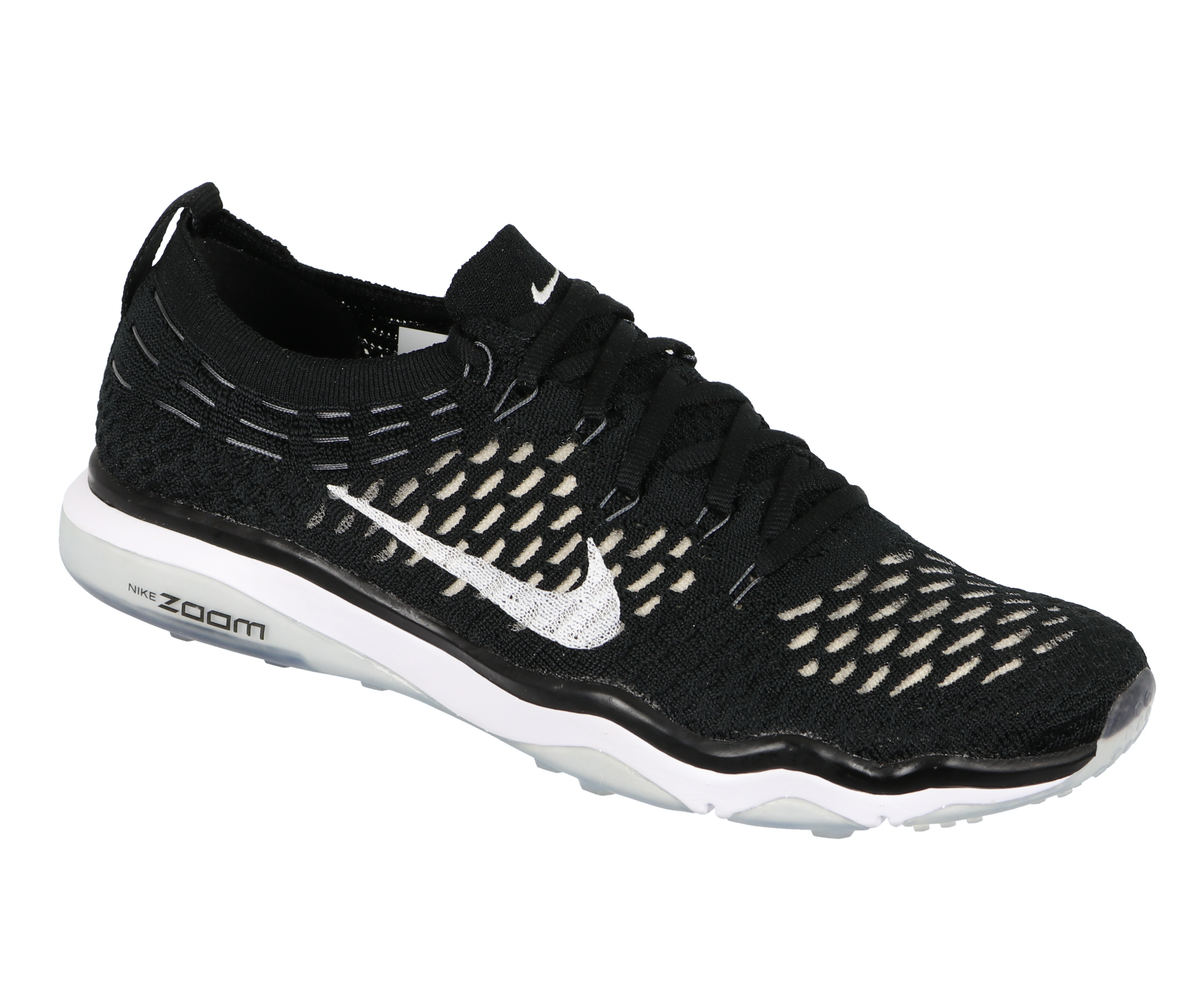 07abc9665e7 Nike Women s Air Zoom Fearless Flyknit Cross Training Shoes Black ...