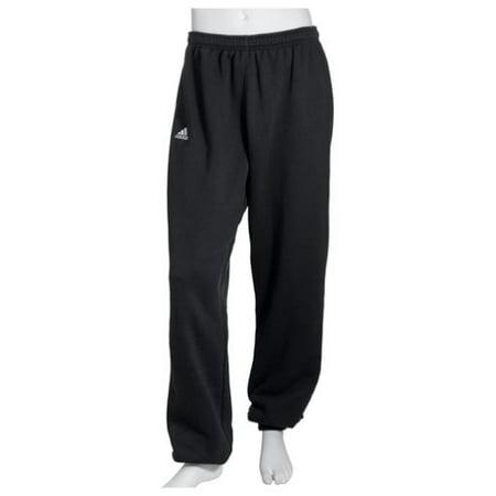 Adidas Black Bib - adidas Men's Team Fleece Pant,Black/White / White,Medium