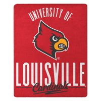 Louisville Cardinals The Northwest Company 55'' x 70'' Triumph Silk Touch Throw - Red - OSFA