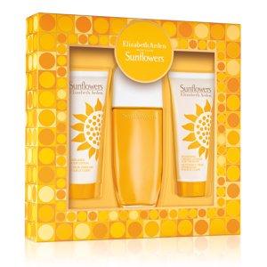 Elizabeth Arden Sunflowers Perfume for Women Gift Set, 3 Pc