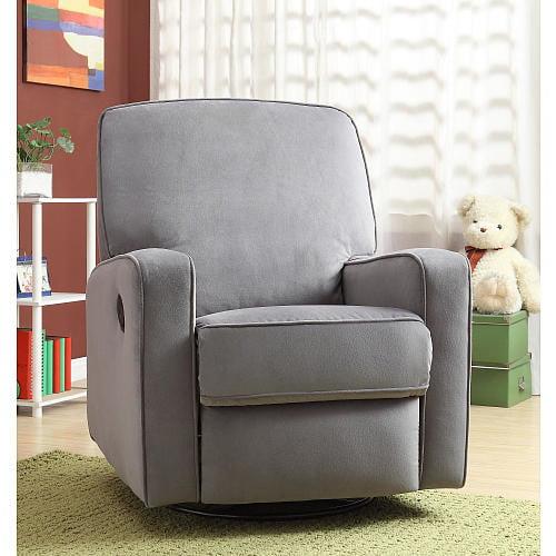 Cool Sutton Swivel Glider Recliner Chair In Stella Zen Grey Walmart Com Spiritservingveterans Wood Chair Design Ideas Spiritservingveteransorg