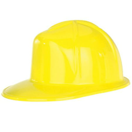 Plastic Hard Hat Adult Construction Helmet Costume Accessory Cosplay Worker Gift