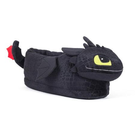 Happy Feet - DreamWorks - Toothless Slippers - (Best Shoes For Children's Feet)