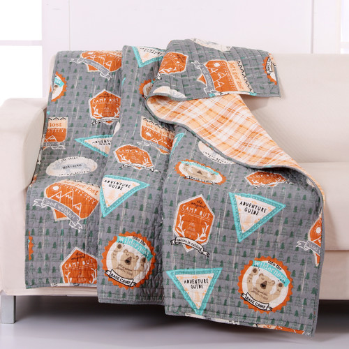 Greenland Home Fashions Camp Out Throw