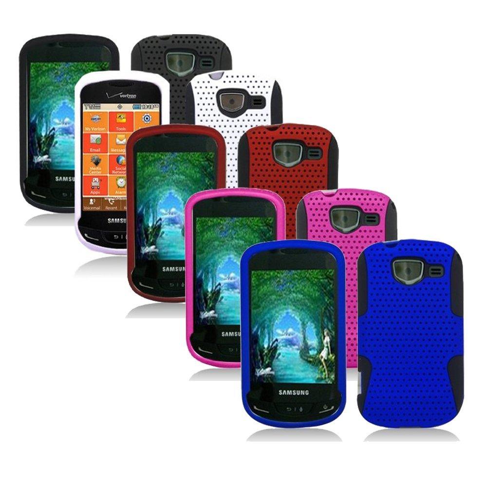 5-pack Mesh Hybrid Case for Samsung Brightside U380