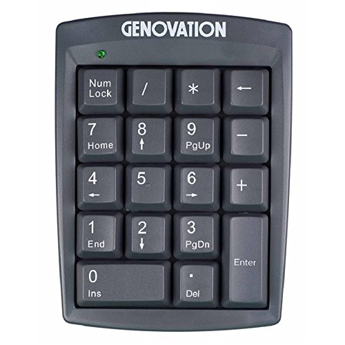 GENOVATION 904-RJ Genovation MiniTerm 904-RJ Keypad 12-Key Membrane DSI Computer by Genovation