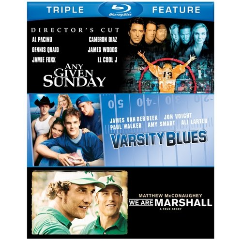 Varsity Blues / Any Given Sunday / We Are Marshall (Blu-ray) (Widescreen)