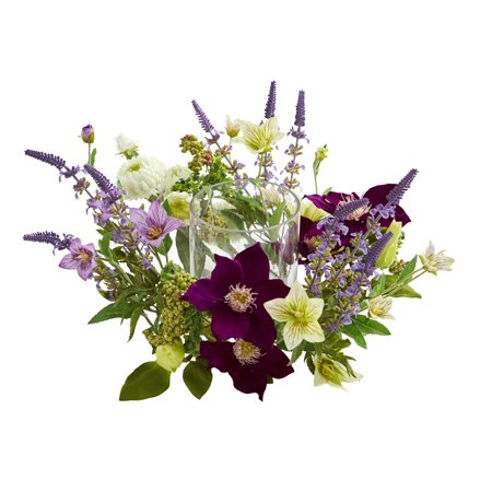 Nearly Natural Mixed Floral Artificial Arrangement - Artificial Floral Arrangements