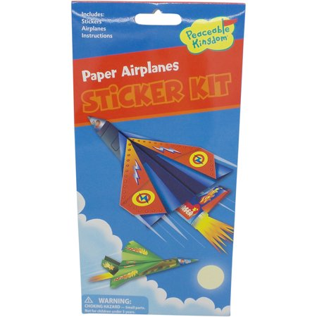 Paper airplanes quicker sticker kit