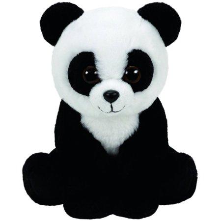 Baboo Panda Beanie Babies 8 inch - Stuffed Animal by Ty (41204)