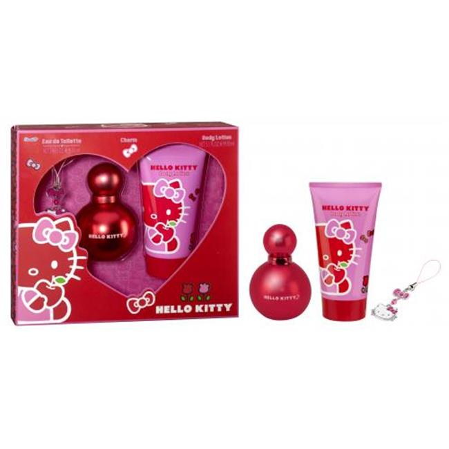 Hello Kitty DIS5497 3 Pieces Set Spray For Women - 3. 4 oz.