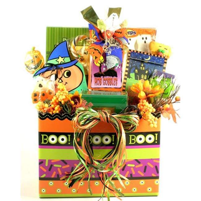 Gift Basket Village GhGo-lg Large Ghostly Goodies Halloween Gift Basket