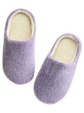 15c08a98a43eee Product Image Nicesee Women Men Winter Warm Fleece Anti-Slip Slippers  Indoor Shoes