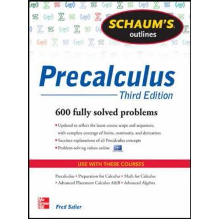 Schaums Outline Of Precalculus