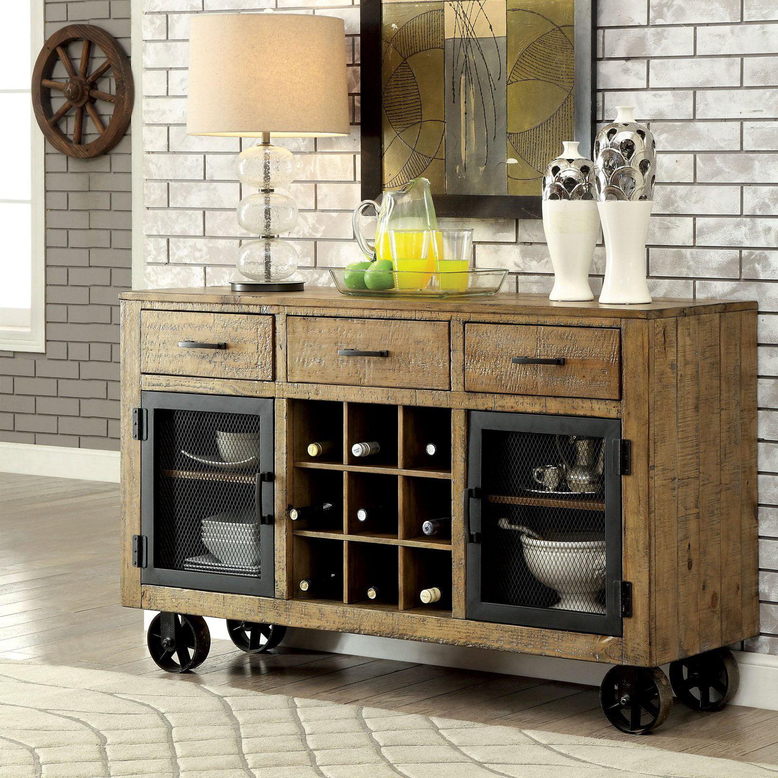 Furniture of America Camen Dining Server