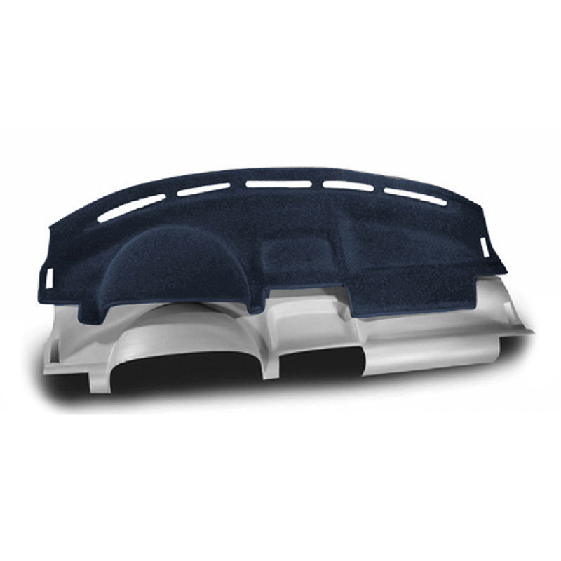 CUSTOM MOLDED CARPET DASHBOARD COVERS MEDIUM BLUE FOR FORD