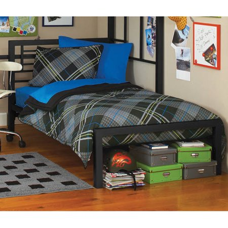 your zone metal twin bed multiple colors walmartcom