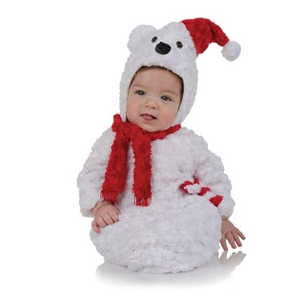 Christmas Polar Bear Bunting Costume - Infant](Bear Infant Costume)