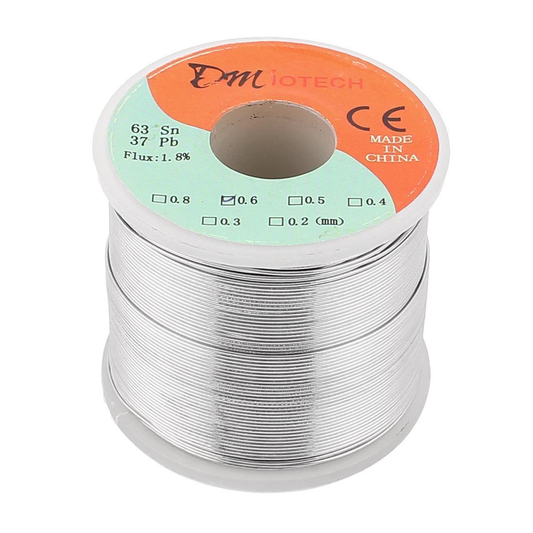 DMiotech 0.6mm 400G 63/37 Rosin Core Flux 1.8% Tin  Roll Soldering Wire