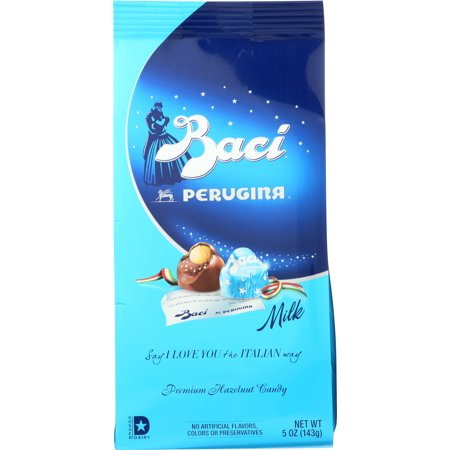 Baci Perugina Original Milk Chocolate Truffle Bag, 5 Ounce (143 (Best Chocolate Truffles In The World)