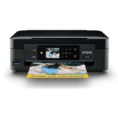 Epson Expression Home XP-410 WiFi Color Inkjet All-in-One - Print 8.7 ppm Black, 4.5 ppm Color, Copy, Scan, Mobile Print