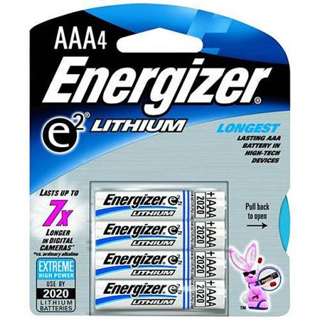 energizer ultimate lithium aaa battery pack of 4. Black Bedroom Furniture Sets. Home Design Ideas