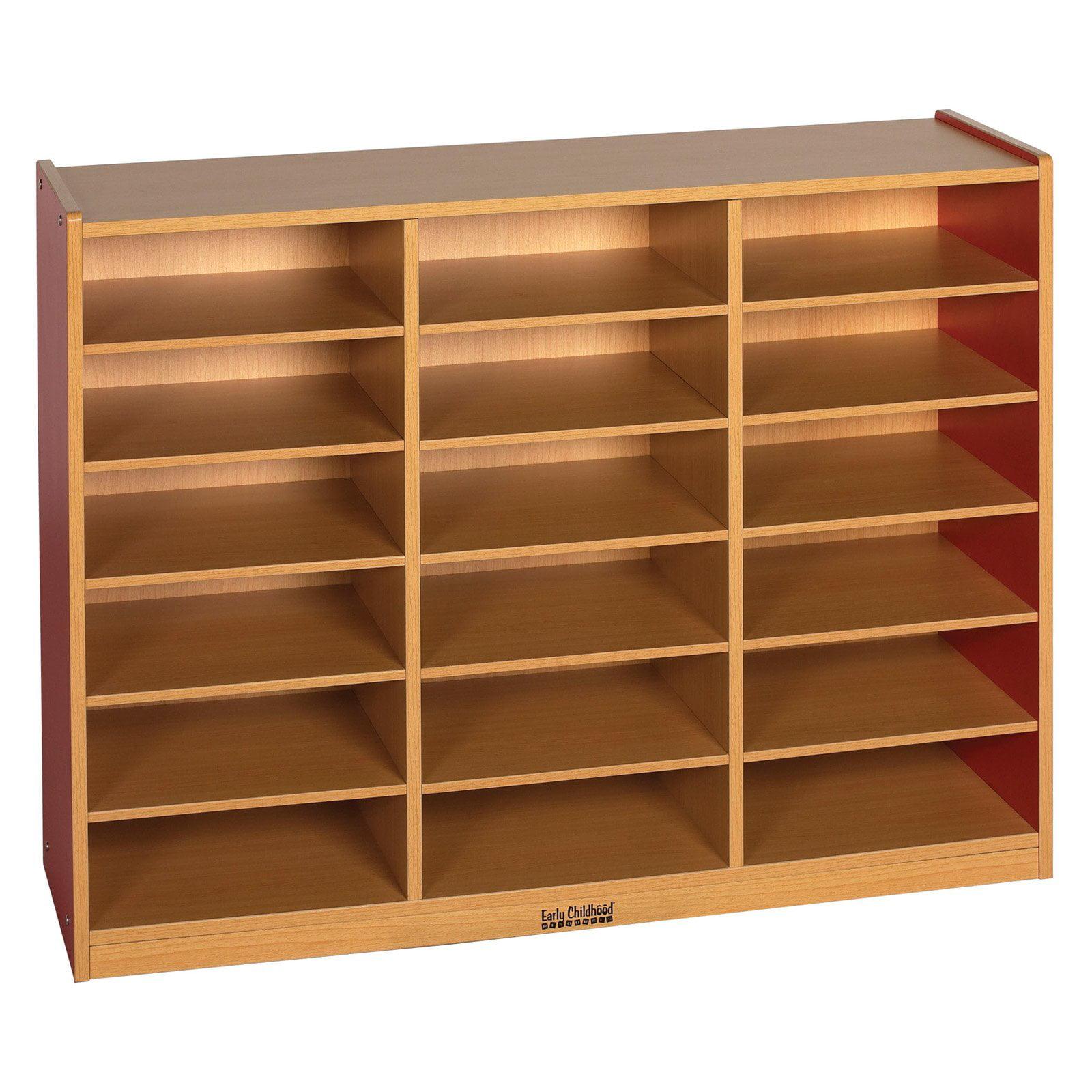 ECR4KIDS 18 Tray Storage Cabinet