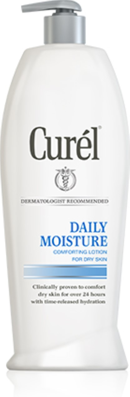 Curel Daily Moisture Comfort Lotion For Dry Skin 13 oz (Pack of 4) Calm Exfoliant