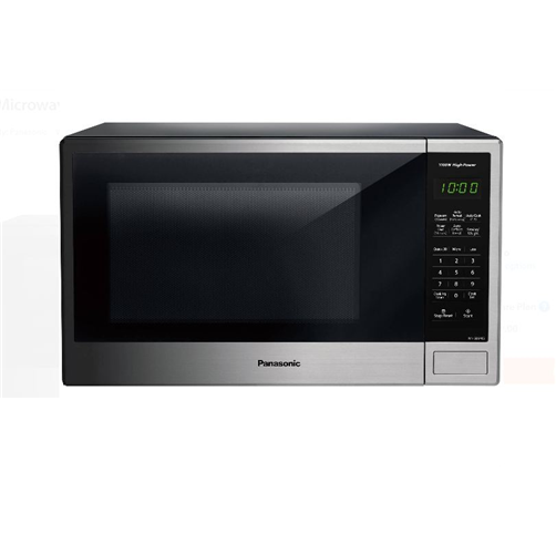 Panasonic 1.3 cu ft Microwave Oven, Stainless NN-SB646S - Refurbished